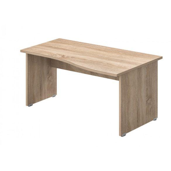 GN-160/100-J íves íróasztal (160 x 100 cm-es íves íróasztal)
