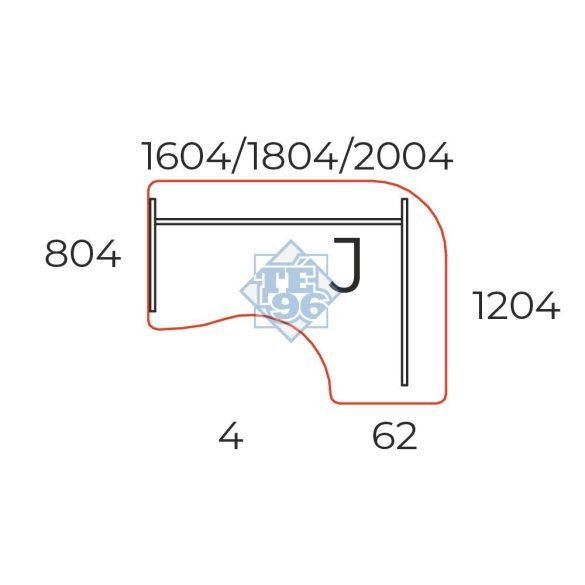 GE-180/120-J íves operatív asztal