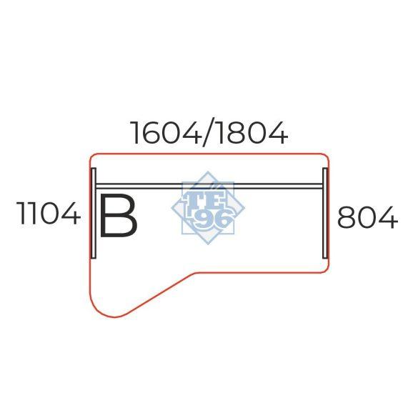 GI-160/110-B számítógépes asztalsztal