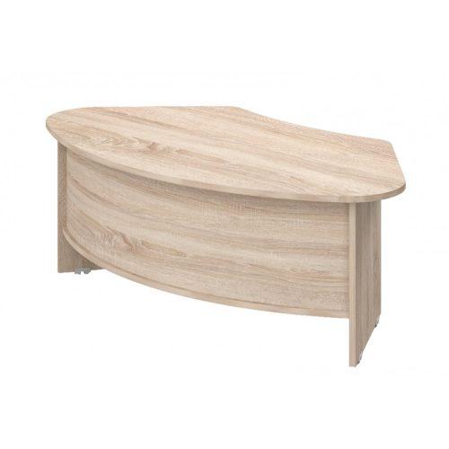 VE-208/114 vezetői íróasztal (208 x 114 cm-es íves vezetői)