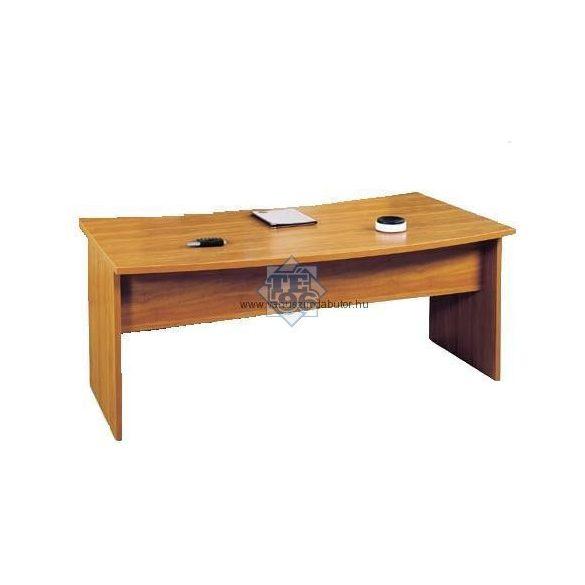 VA-180/100 vezetői asztal (180 x 100 cm-es íves kialakítású)