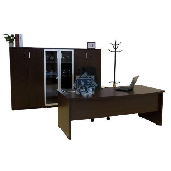 VB-180/100 íves vezetői asztal (180 x 100 cm-es íves vezetői)