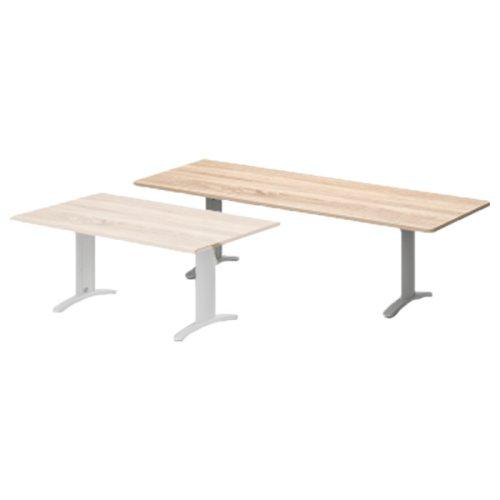 TA-180/100-K-LUX Tárgyalóasztal kerekített sarkokkal, 180 x 100 cm-es méretben