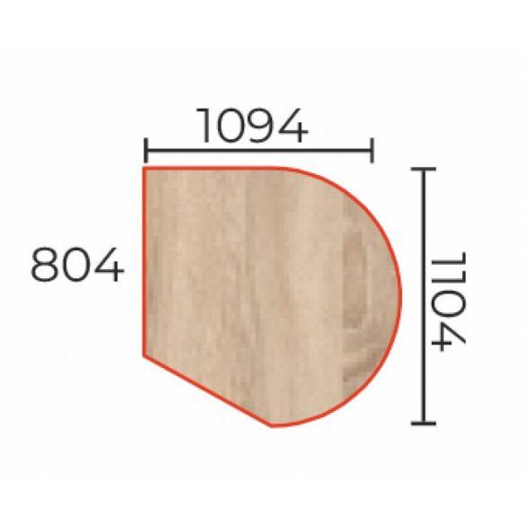 TO-109/110 Íves csatlakozó asztatoldat fém csőlábbal