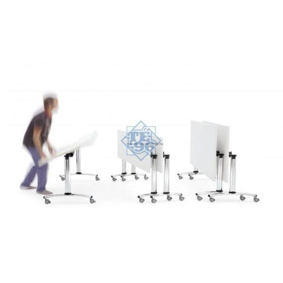 CENT-140/80 felhajtható asztallapos rendezvényasztal 140 x 80 cm-es