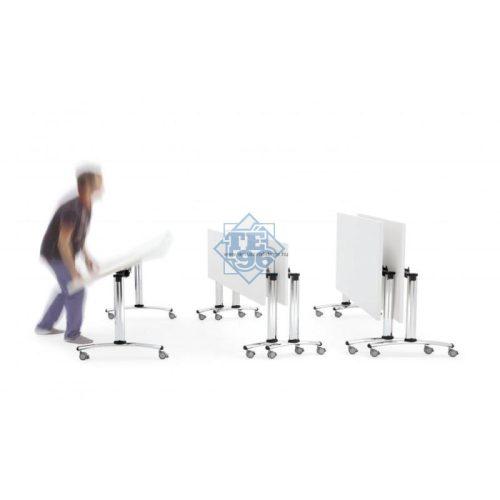 CENT-120/80 felhajtható asztallapos rendezvényasztal 120 x 80 cm-es