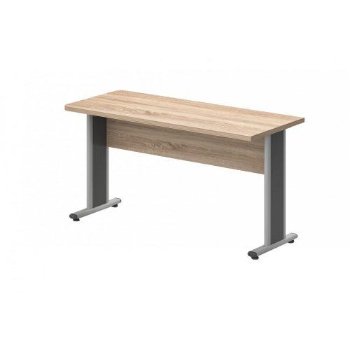 EK-120/62-AVA  Egy oldalon kerekített íróasztal AVA fémlábbal 120X 62 cm-es méretben