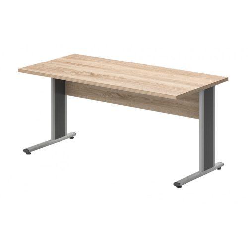 IS-180/80-AVA fémlábas íróasztal (180 x 80 cm-es íróasztal fém)