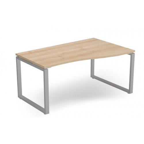 EX-GN-158/100-J-FL2  Belső oldalán íves operatív asztal FL2 fémlábbal, jobbos kivitelben