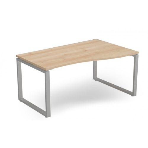EX-GN-178/100-J-FL2  Belső oldalán íves operatív asztal FL2 fémlábbal, jobbos kivitelben