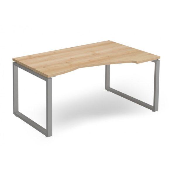 """EX-HA-158/100-J-FL2   """"L"""" alakú operatív asztal FL2 fémlábbal, jobbos kivitelben"""