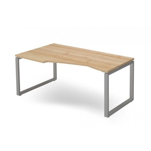 """EX-HB-178/100-B-FL2   """"L"""" alakú operatív asztal FL2 fémlábbal, balos kivitelben"""