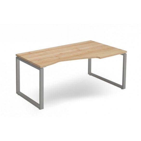 """EX-HB-178/100-J-FL2   """"L"""" alakú operatív asztal FL2 fémlábbal, jobbod kivitelben, 178 x 100 cm-es méretben"""