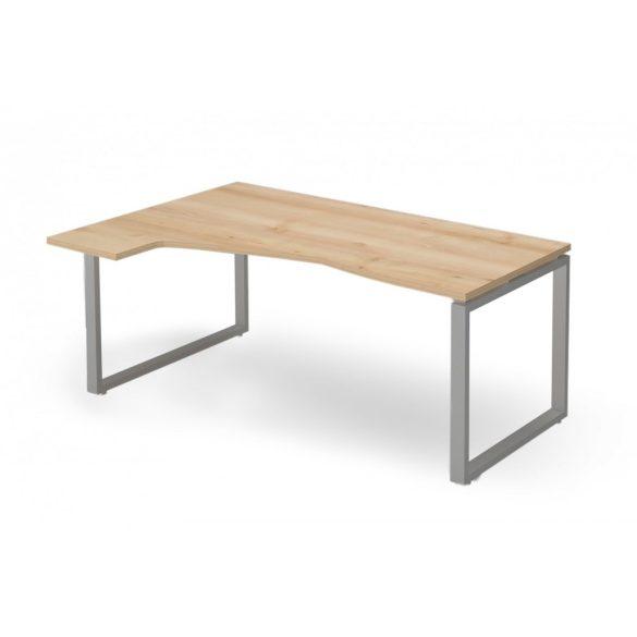 """EX-HC-158/120-B-FL2   """"L"""" alakú operatív asztal FL2 fémlábbal, balos kivitelben, 158 x 120 cm-es méretben"""