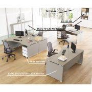 EX-HC-198/120-B sarkos operatív asztal