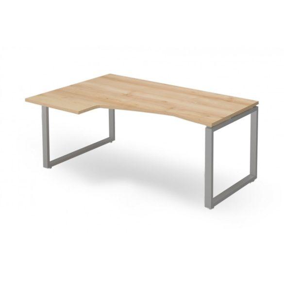 """EX-HD-178/120-B-FL2   """"L"""" alakú operatív asztal FL2 fémlábbal, balos kivitelben, 178 x 120 cm-es méretben"""