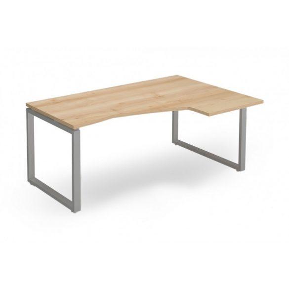 """EX-HD-178/120-J-FL2   """"L"""" alakú operatív asztal FL2 fémlábbal, jobbos kivitelben, 178 x 120 cm-es méretben"""