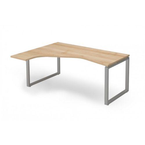 """EX-HE-158/140-B-FL2   """"L"""" alakú operatív asztal FL2 fémlábbal, balos kivitelben"""