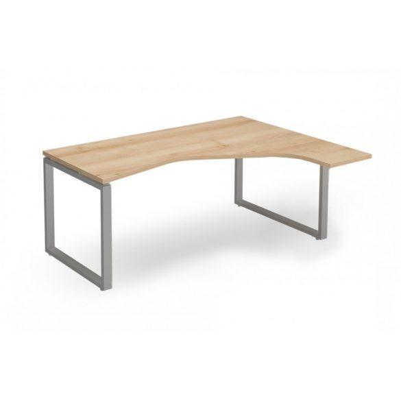 """EX-HE-178/140-J-FL2   """"L"""" alakú operatív asztal FL2 fémlábbal, jobbos kivitelben, 178 x 140 cm-es méretben"""
