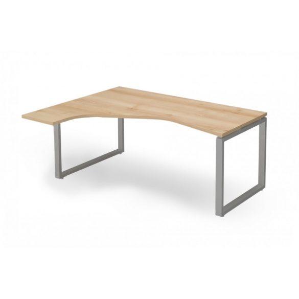 """EX-HE-198/140-B-FL2   """"L"""" alakú operatív asztal FL2 fémlábbal, balos kivitelben, 198 x 140 cm-es méretben"""