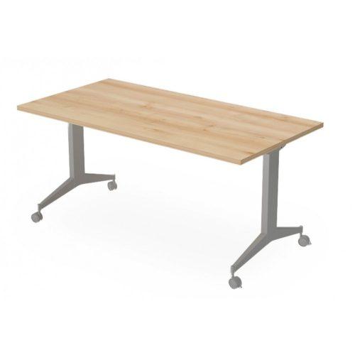 EX-IS-138/80-FL9  Felhajtható lapos sarkos asztal 138 x 80 cm-es méretben