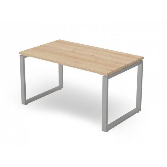 EX-IS-158/80-FL2   Hagyományos íróasztal FL2 fémlábbal, 158 x 80 cm-es méretben
