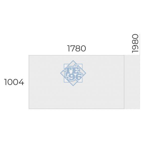 EX-IS-198/100 vezetői asztal