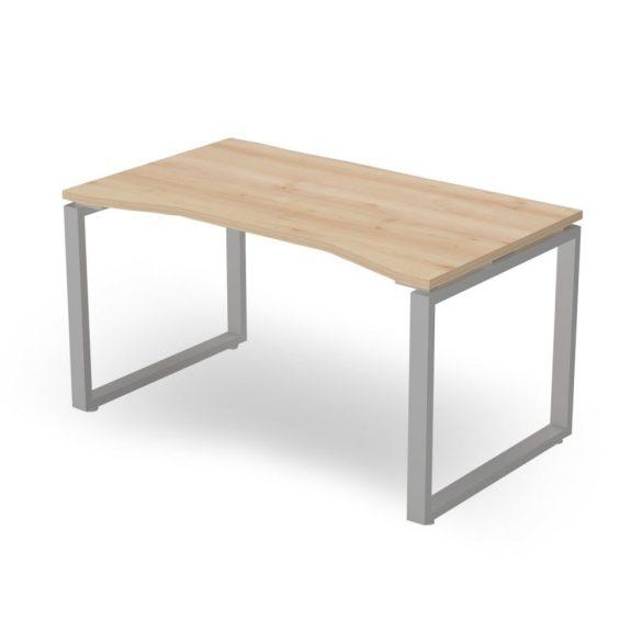EX-IZ-158/80-FL2   Sarkos asztal belső kivágással FL2 fémlábbal, 158 x 100 cm-es méretben