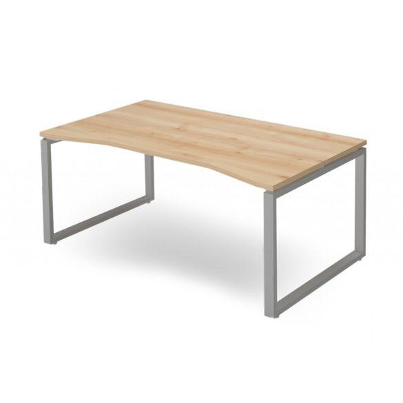 EX-SI-198/100-FL2   Szögletes asztal belsőoldali kivágással, FL2 fémlábbal