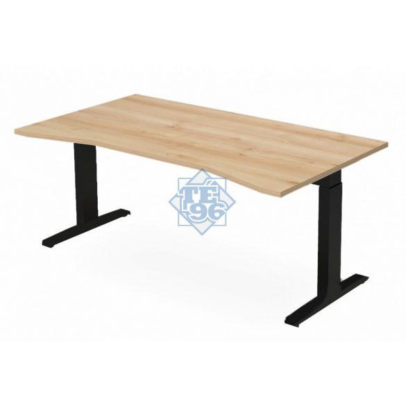 EX-SI-198/100-FL7   Vezetői íróasztal belső kivágással, állítható magasságú FL7 lábbal