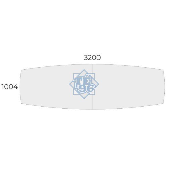 EX-TBK-320/100 íves tárgyalóasztal