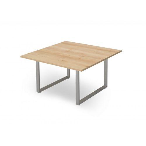 EX-TC-138/140-FL2  Szögletes formájú tárgyalóasztal FL2 fémlábbal, 138 x 140 cm-es méretben