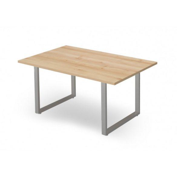 EX-TC-158/100-FL2   Szögletes formájú tárgyalóasztal FL2 fémlábbal, 158 x 100 cm-es méretben