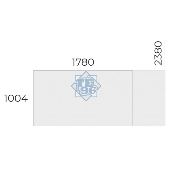 EX-TC-238/100-FL6 tárgyalóasztal
