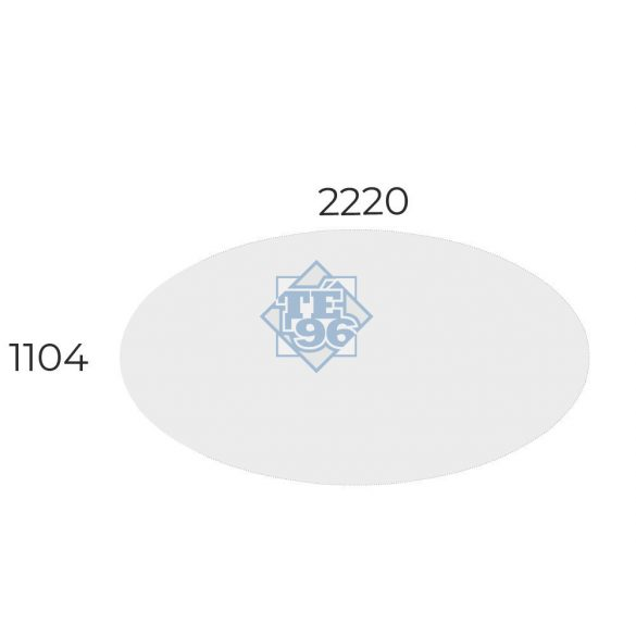 EX-TD-220/120-FL3 tárgyalóasztal