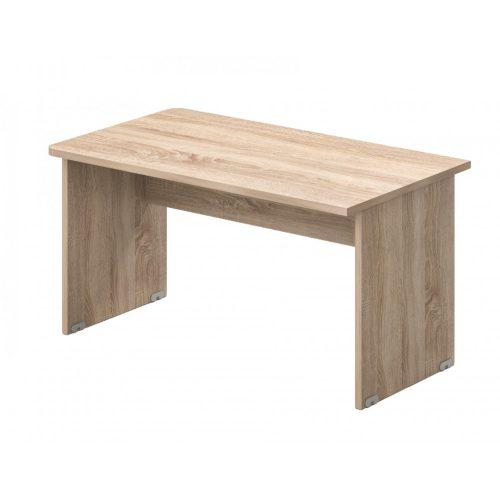 EK-160/80 Laplábas íróasztal egyoldalon kerekített sarokkal 160 x 80 cm-es méretben