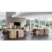 KK-120/62 íróasztal kerekített sarkokkal (120 x 62 cm-es)