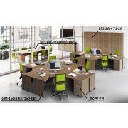 GM-180/160-J íróasztal