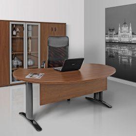 Vezetői asztalok LUX fémlábbal