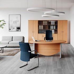 Vezetői asztalok AVA fémlábbal