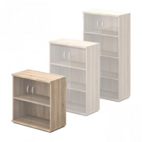 Üvegajtós-polcos szekrények