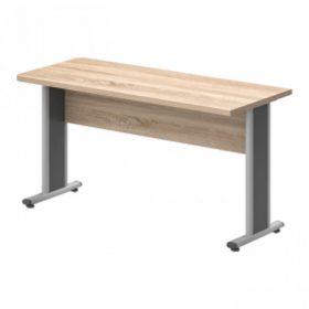 Egyoldalon kerekített asztalok AVA fémlábbal