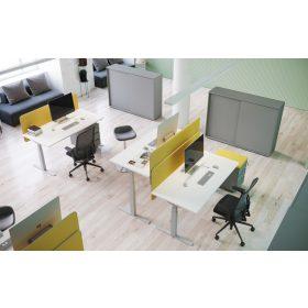 Extend asztalok elektromosan állítható magasságú FL10 fémlábbal