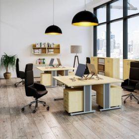Vénusz AVA fémlábas irodai asztalok