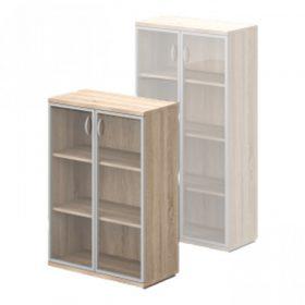 Üvegajtós szekrények