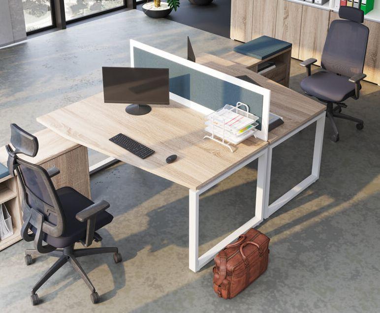 Extend irodabútor család FL2 fémlábas asztalai képgaléria