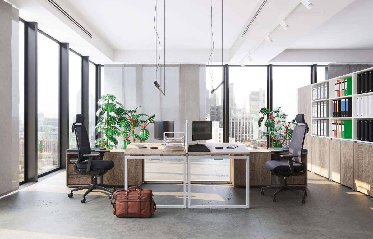 FL2 fémlábas íróasztalok képgalériája 1