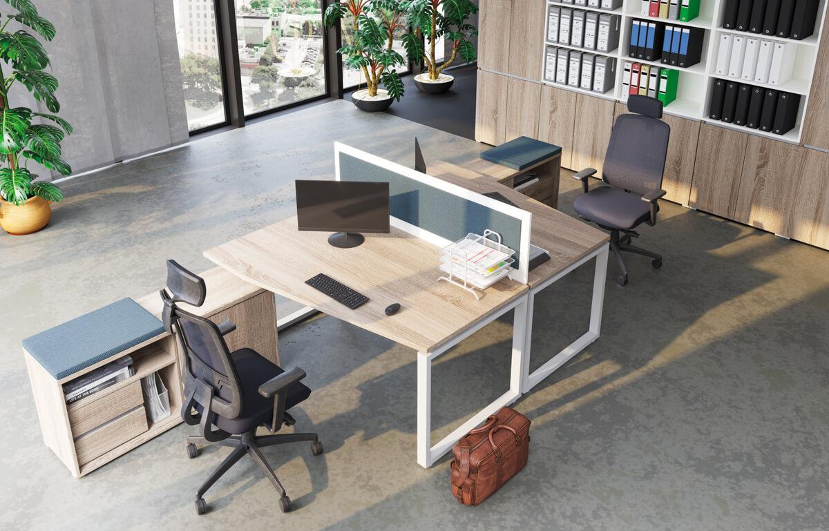 ExtendFL2 fémlábas íróasztalok, munkaasztalok részletes bemutatása