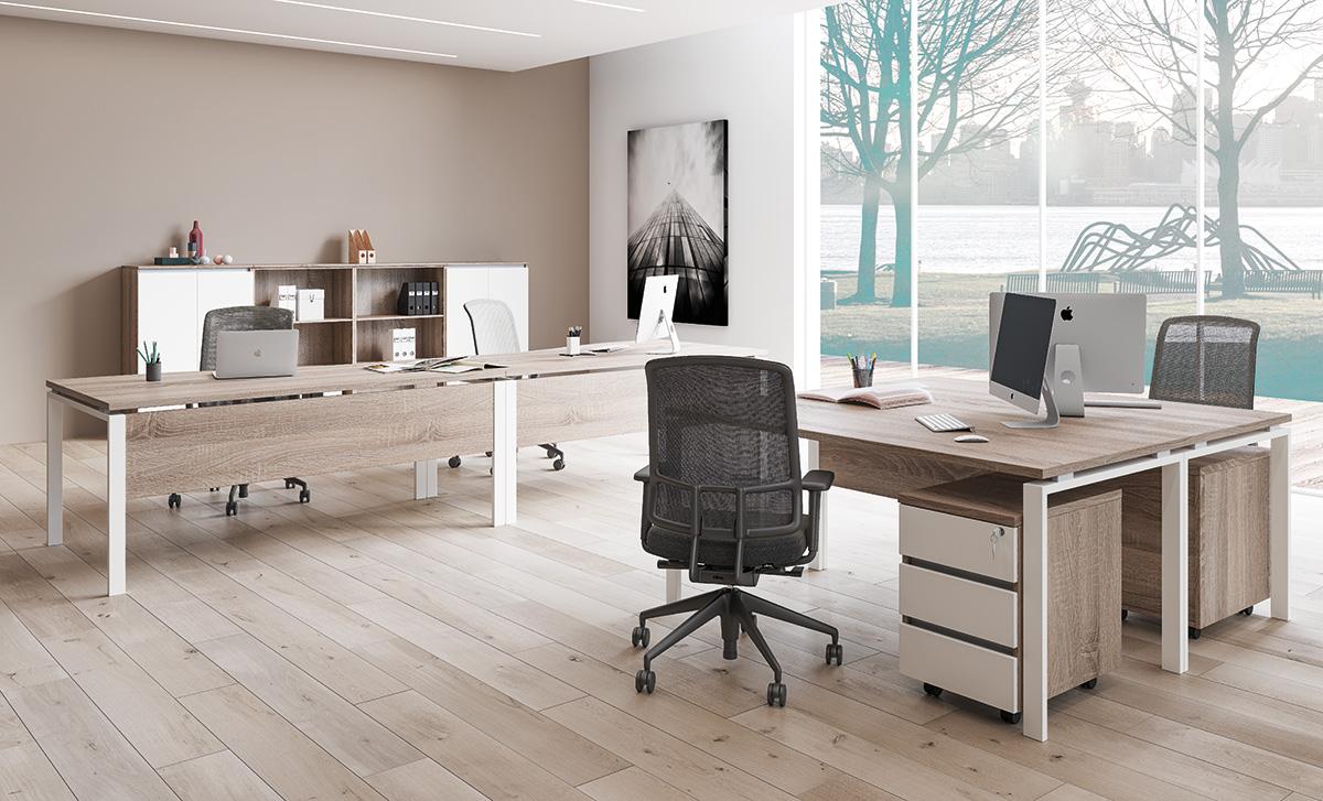 FL5 fémlábas íróasztalok képgaléria 2