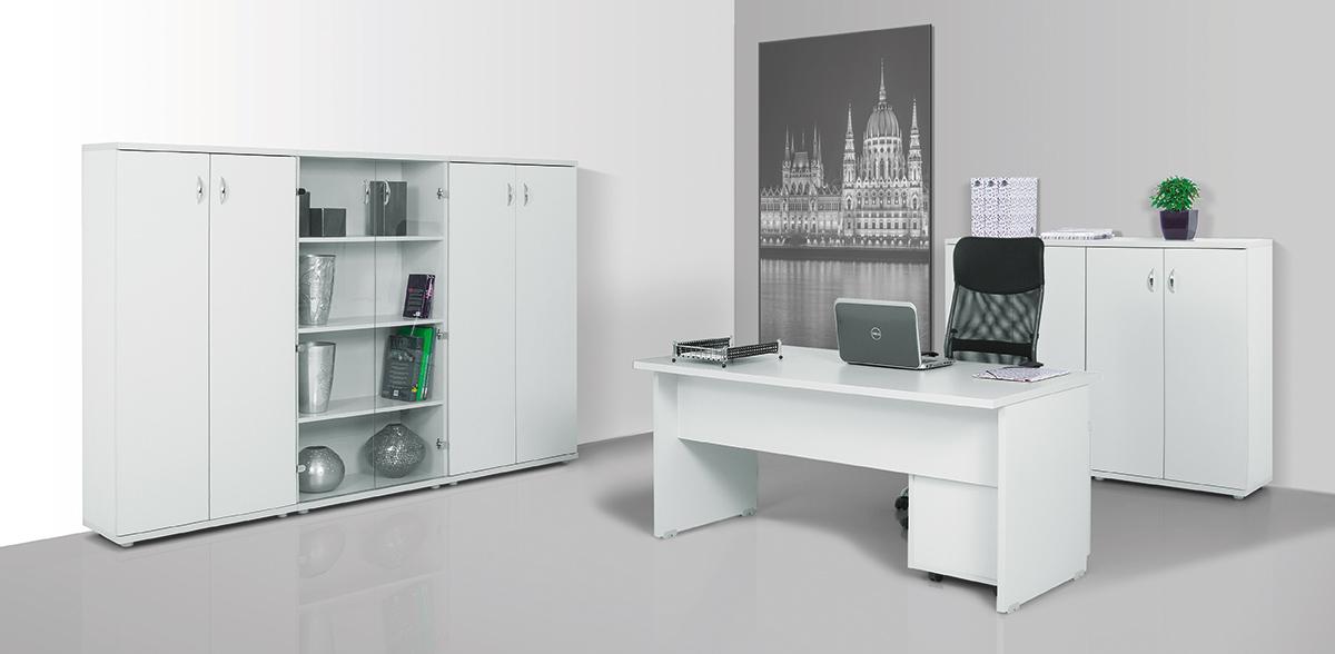 Vénusz irodabútorok asztalai laplábas kialakításban